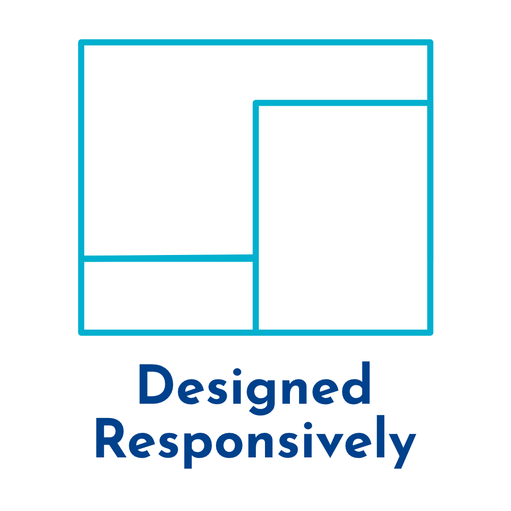 Always responsive badge